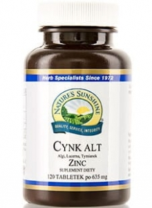CYNK ALT NSP 120 TAB 635 mg  NATURE'S SUNSINE PRODUCT