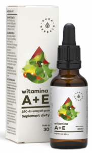 WITAMINA A + E AURA  W KROPLACH 30ML