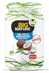 OLEJ KOKOSOWY BIG NATURE BIO EXTRA VIRGIN 900 ML