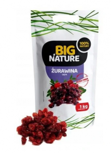 ŻURAWINA CIĘTA 1 KG BIG NATURE