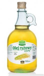 OLEJ RYŻOWY 1000 ML LOOK FOOD DO SMAŻENIA SAŁATEK